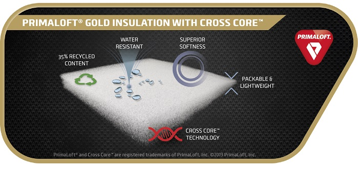 Primaloft Gold with Crosscore