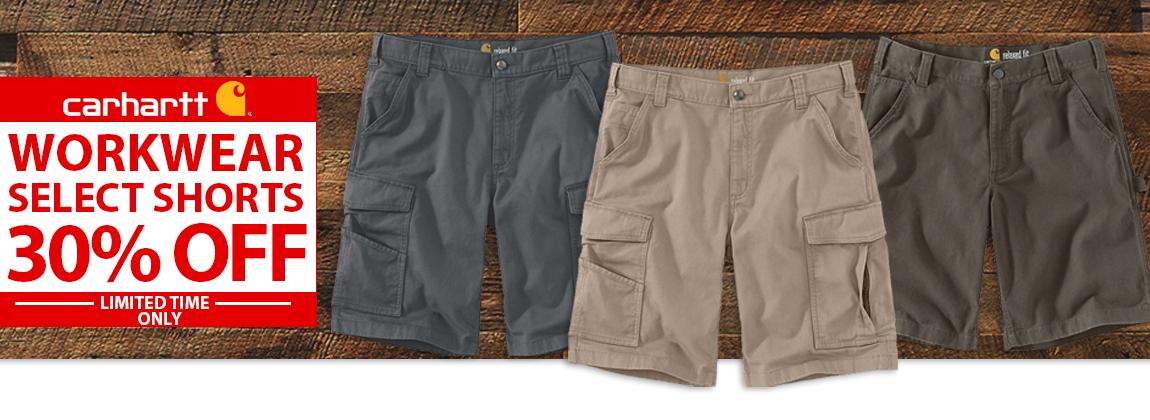 Carhartt Shorts 30% Off